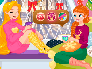Зимние истории принцесс